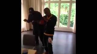 Olamide freestyles durosoke with Rick Ross