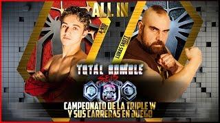 Total Rumble VI (09/04/2016): Carreras y el Campeonato Absoluto en juego... ALL IN