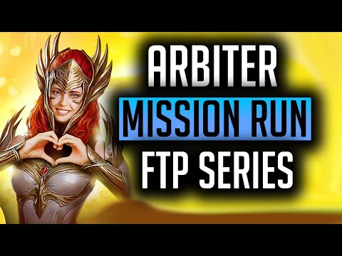 RAID | FREE TO PLAY ARBITER MISSION RUN! FTP Series and Update