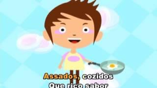 Canção do ovo (@Jardim de Infância 7)