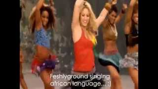 "Shakira ~ Waka Waka ""This Time For Africa"" (Lyrics Sub. English/Inglés) [HD] Official Video"