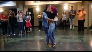 Paulo Samurai e Ana Oliveira kizomba fusion