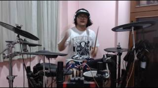 แป๊ะ Syndrome  - Somewhere I Belong   Linkin Park Drum Cover