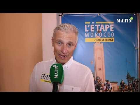 Video : Le Tour de France fait sa promotion à Marrakech