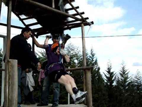Mom's First Zipline