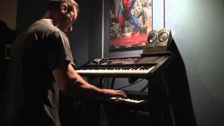 John Williams Superman theme (keyboard cover)