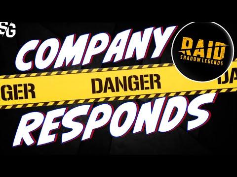 Raid said WHAT? Raid response to player outcry/feedback. Raid Shadow Legends