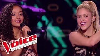 Lucie, Shakira et Black M - « Comme Moi » | The Voice France 2017 | Live