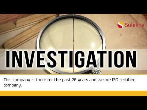 Top 100 Detective Agency, Best Investigation Services | Sulekha
