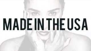 Demi Lovato -  Made In The USA (Lyrics Video)