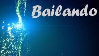 Enrique Iglesias - Bailando (English) LYRICS