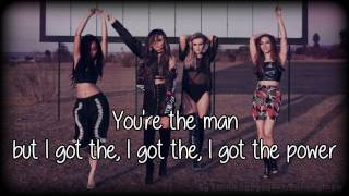 Little Mix - Power (lyrics on screen)