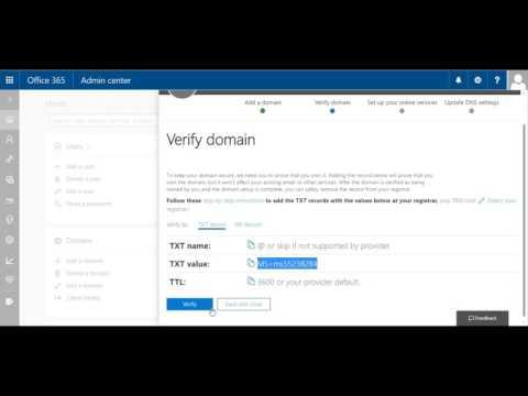 Office 365 - Cum sa adaugi un domeniu custom la contul de 365