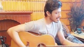 Dekhte Dekhte - Atif Aslam   Acoustic Guitar Cover   Batti Gul Meter Chalu   Maan Awan