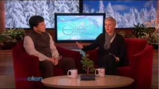 Jackie Chan Ellen DeGeneres Interview 8/01/2010 (Full)