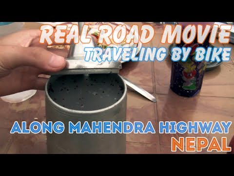 Bicycle Travel [Real Road Movie] Episode 41: Along Mahendra Highway Nepal (Eng Sub)