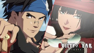 Guilty Gear Strive Gets Gameplay Footage for Its Final Two Launch Characters