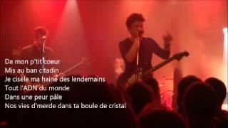 """ROMAIN HUMEAU  [EIFFEL] """"Velours de Gosse"""" avec paroles - live@l'Ubu Rennes 2016"""
