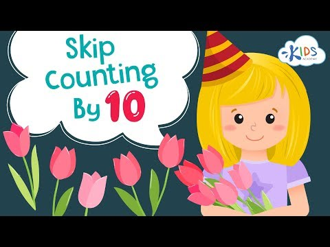 How to skip count by 10