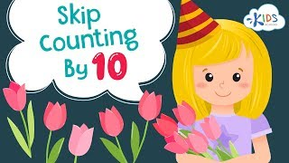 Skip Counting by 10 for kids