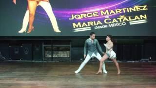 Peru Latin Fest 2016 - Jorge Martinez y Maria Catalan