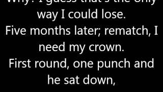Roy Jones Jr - Y'all Must've Forgot. (Lyrics.)