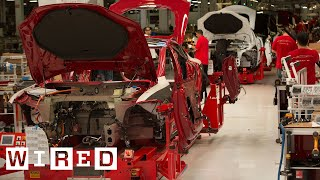 How the Tesla Model S is Made | Tesla Motors Part 1 (WIRED) width=