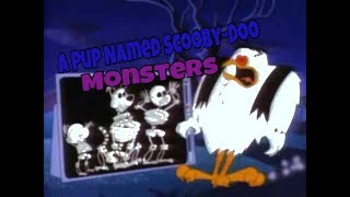 Top 27 A Pup Named Scooby-Doo Monsters