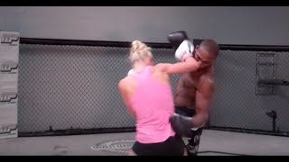 Holly Holm and Jon Jones Training Together