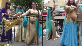 Dance Parade~NYC~2016~BellyDance America wows the crowd~NYCParadelife
