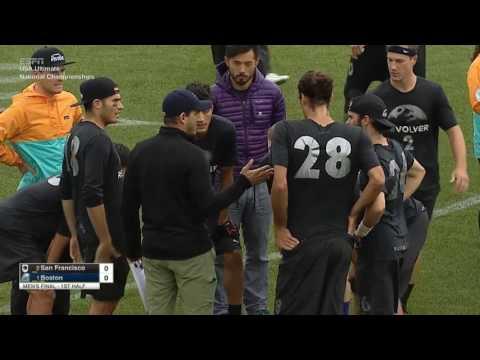 Video Thumbnail: 2016 National Championships, Men's Final: San Francisco Revolver vs. Boston Ironside