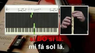 Rude - Magic - SEM VOZ GUIA - Karaoke das notas - Educação Musical - José Galvão