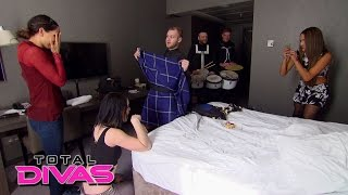Nikki Bella pranks Brie and Paige in Scotland: Total Divas Bonus Clip, Aug. 4, 2015