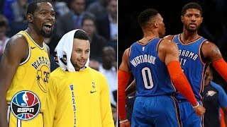Are the Thunder the biggest threat to the Warriors?   NBA Countdown
