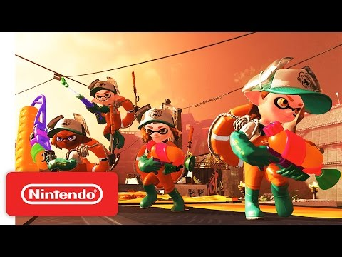 WTFF::: First Impressions: Teaming Up in Splatoon 2\'s Salmon Run Co-Op Mode