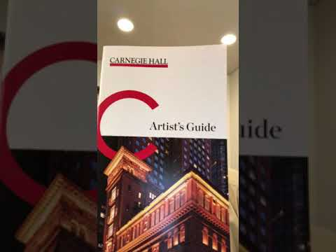 Carnegie Hall Saga 18: Dressing Room Youtube Video