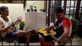 Casinha Branca -  Manu Carvalho ( cavaco) Gulla Bass ( violão)
