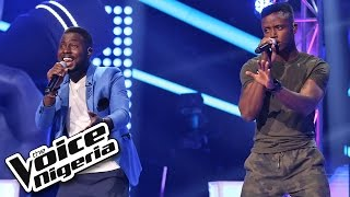 Chike vs Patrick sing 'Let Me Love You' / The Battles / The Voice Nigeria 2016