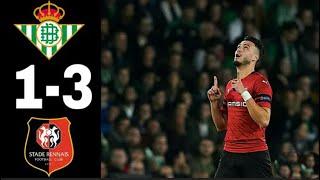 Resumer Real-betis vs Rennes (1-3)