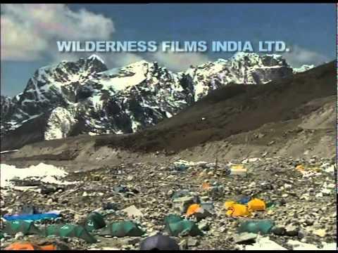 Base camp – Everest expedition 2001