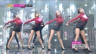 [HOT] Rainbow Blaxx - Cha Cha, 레인보우 블랙(재경,고우리,오승아,현영) - 차차, Show Music core 20140125