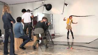 Willow Smith: Behind the Scenes   London Sunday Times Shoot