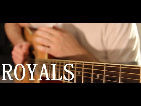 Lorde - Royals (fingerstyle guitar cover by Peter Gergely) [WITH ...