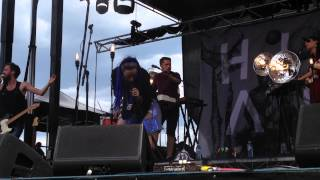 Highasakite - Science and Blood Tests live - Laneway Melbourne 2015