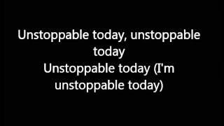 sia-unstoppable(lyrics video)