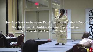 Her Excellency Africa Union Ambassador to the United State of America in Austin Texas May 11, 2019