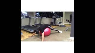 Larray At the Gym