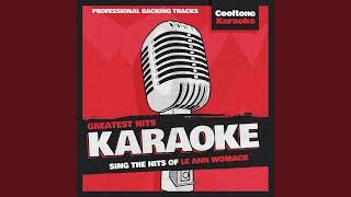 Never Again, Again (Originally Performed by Lee Ann Womack) (Karaoke Version)