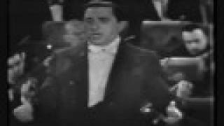 Jan Peerce live on early TV - Vesti la giubba