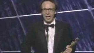 """""""Life Is Beautiful"""" Wins Foreign Language Film: 1999 Oscars"""